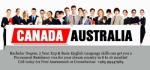 Want to live and Work in Canada or Australia?